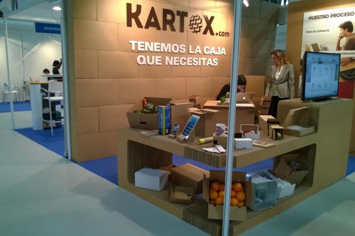 3D Click in the opening of a new packaging store (Kartox) from Font Packaging Group